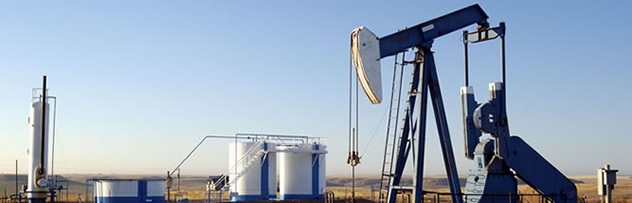 oil and gas website design